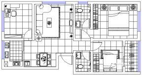 120平米戶型平面圖 120平米戶型設計圖