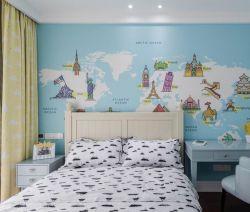 89平米兒童房墻面壁紙裝修效果圖賞析