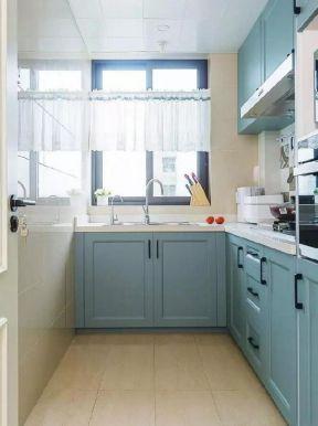 73平新房室内厨房橱柜装修效果图