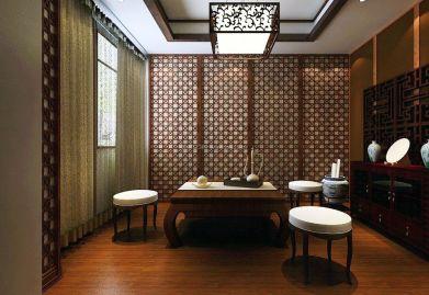 中式风格茶室ballbet贝博网站设计 打造吸引人的中式茶室