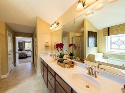 8平米家庭衛生間洗手臺鏡子設計圖片
