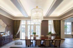 綠城悅莊美式1000平別墅餐廳裝修案例
