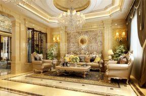 歐式別墅客廳裝修效果圖片大全 歐式別墅客廳裝修設計效果圖大全