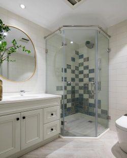 家庭衛生間隔斷造型裝修設計圖賞析