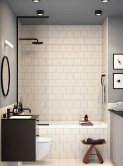 簡約風格家庭衛生間浴室裝修設計圖一覽