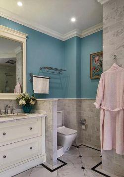 簡約歐式風格家庭衛生間裝修設計圖欣賞