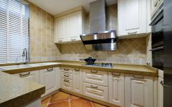 簡歐風格別墅家居廚房裝飾設計圖