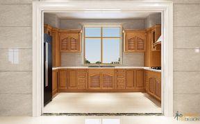 新古典厨房效果图  新古典厨房家装