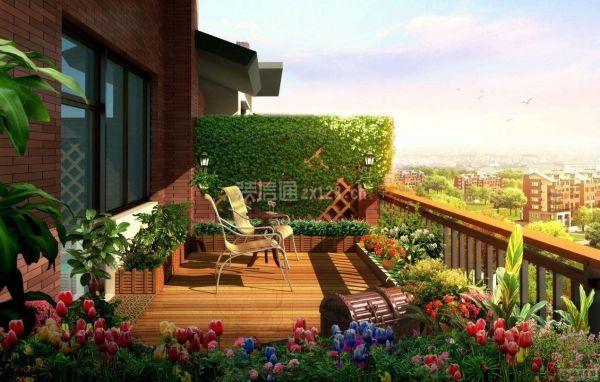 如何把陽臺設計裝飾成花園