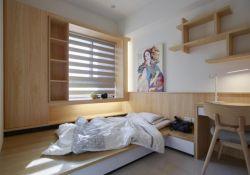 日式新房小書房榻榻米裝修設計實景圖片