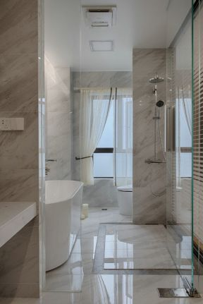 2019現代簡約衛浴效果圖片 2019現代簡約衛浴裝修圖片