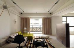 澳海瀾庭80平米兩居室混搭風格客廳裝修效果圖