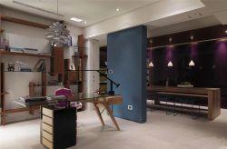 澳海瀾庭80平米兩居室混搭風格書房裝修效果圖