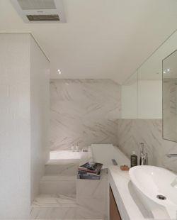 澳海瀾庭80平米兩居室混搭風格衛生間裝修效果圖