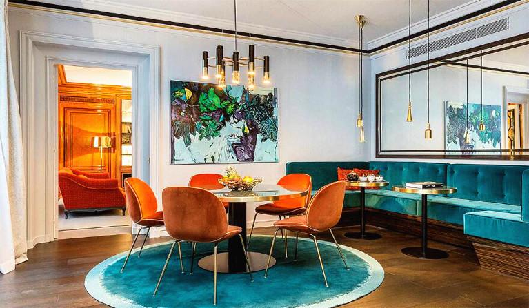2019家庭新房餐厅室内颜色搭配装饰效果图赏析