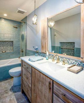 2019洗手间台盆柜图片 2019卫生间台盆柜图片欣赏