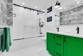 卫生间灯具图片 大户型卫生间装修效果图