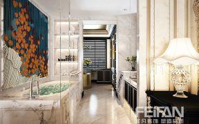 法式浴室裝修效果圖 2019法式浴室柜圖片