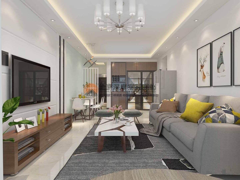 房子客厅装潢 现代简约客厅装潢