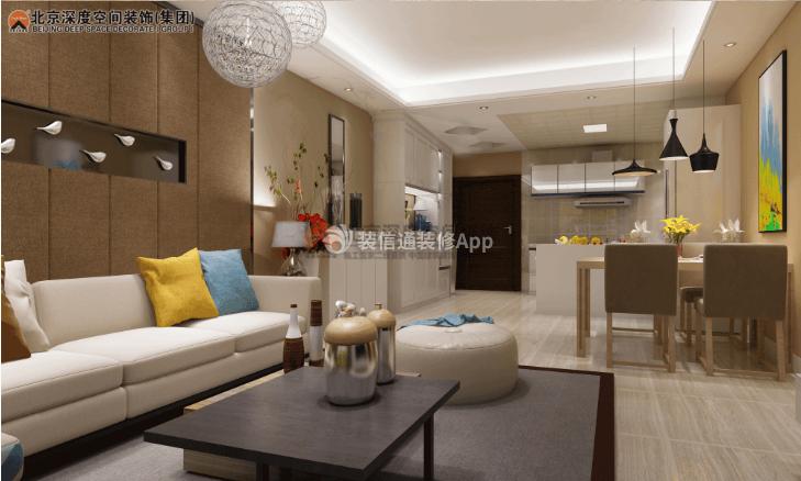 小客厅装修效果图片 家庭客厅装修效果图