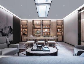 中式茶室設計效果圖 中式茶室設計圖片