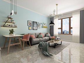 2019室內客廳墻面置物架圖片 室內客廳墻畫