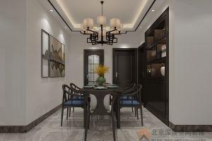 广西钦州三中单位房——新中式风格
