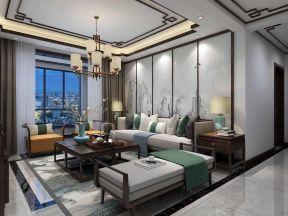 2019家庭客廳墻面裝飾畫 2019裝修客廳地板磚效果圖