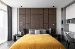 100平方米房子臥室軟包背景墻設計圖