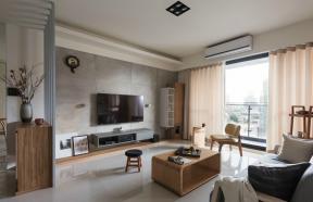 2019現代時尚客廳窗簾效果圖欣賞  家庭客廳簡單裝修