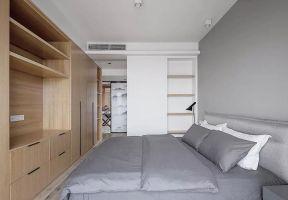 100平方米现代风格房子卧室壁柜设计图大全