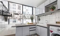 北歐風格小戶型U型廚房裝修效果圖片