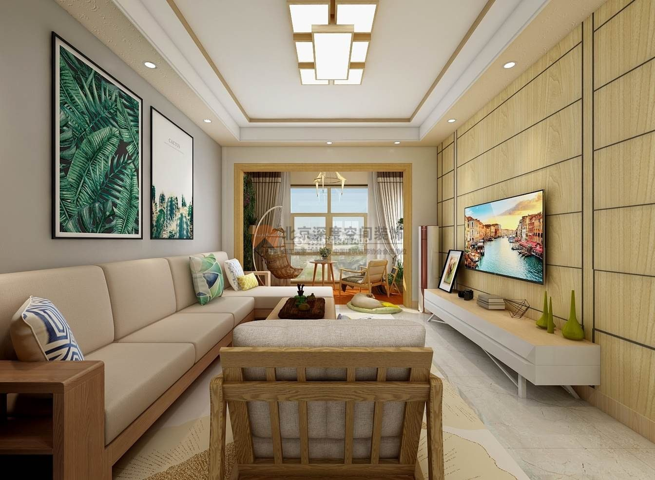 现代简约风格客厅家具图片 客厅沙发背景墙装修 客厅沙发背景墙装饰