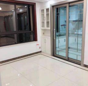 信達天御128平米三居中式風格廚房門窗門框效果圖-每日推薦