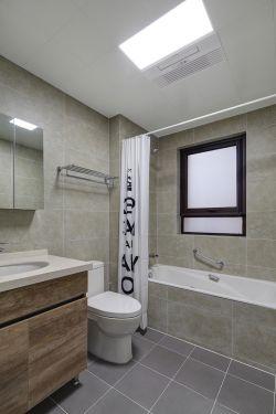 90平米現代二居衛生間裝修設計效果圖