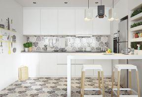 廚房帶吧臺設計 現代風格廚房裝修風格