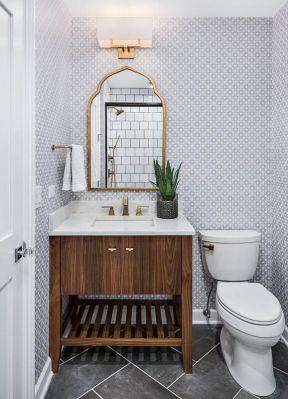 欧式卫生间装修图 2019新欧式卫生间装修图片