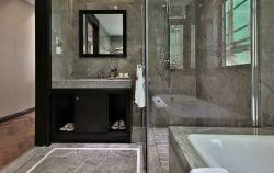 131平中式風格新房衛生間玻璃隔斷設計圖