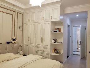 2019家装卧室整体衣柜效果图 卧室衣柜装饰图