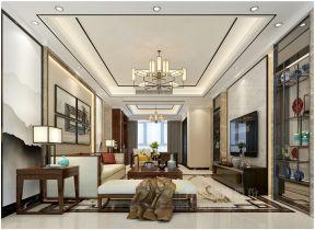 2019新中式风格客厅效果图 新中式风格客厅图片 新中式风格客厅吊顶