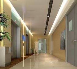 1200平現代風格辦公室電梯口吊頂設計圖片