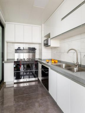 现代简约厨房效果图 2019现代简约厨房设计效果图 2019现代简约厨房装修设计