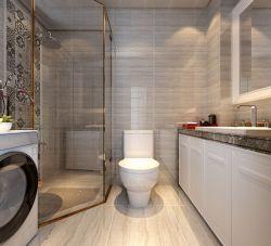 簡歐風格125平新房衛生間淋浴室裝修設計圖