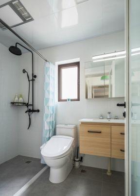 2019卫生间浴室装修 2019卫生间浴室装修图 2019浴室浴帘图片