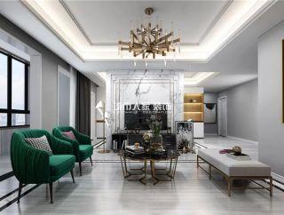 乌鲁木齐国际置地现代风格138平米装修效果图案例