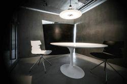杭州公司辦公室洽談區吊燈設計裝修效果圖片