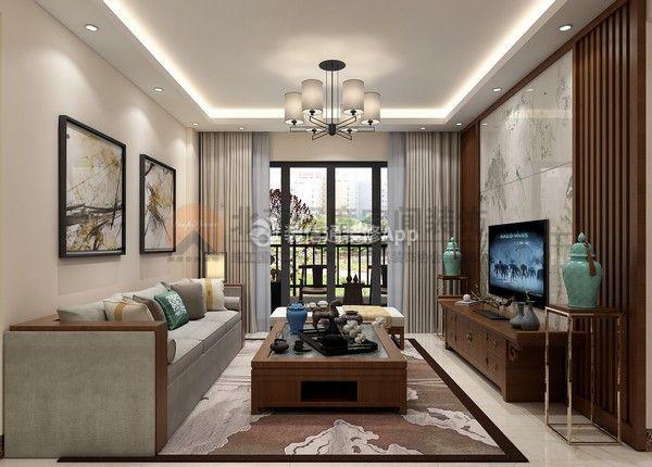 新中式风格客厅效果图 中式风格客厅装修图片