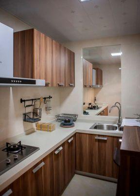 85平米二居室中式风格厨房装修效果图片