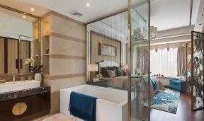 2019中式風格臥室裝修圖 中式浴室裝修效果圖
