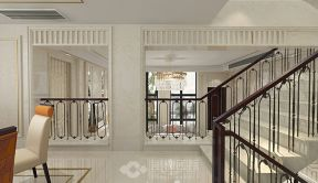 別墅樓梯扶手圖片大全 2019別墅樓梯裝潢圖片